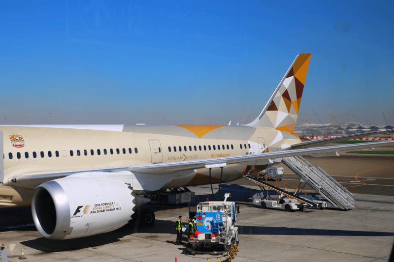 Etihad Boeing 787 Dreamliner