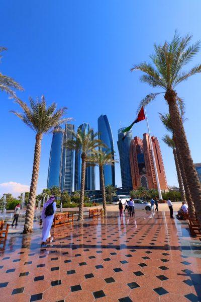 etihadtowers, emiratespalaceentrance, Emirates Palace, Abu Dhabi, United Arab Emirates, UAE, luxury travel, luxury hotel, 5 star hotel, world travel adventurers, WorldTravelAdventurers, world's 2nd most expensive hotel, hotel review