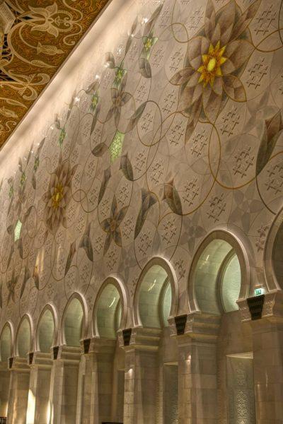 Sheikh Zayed Grand Mosque, Abu Dhabi, United Arab Emirates, UAE, architecture, art, world travel adventurers, WorldTravelAdventurers, luxury travel, luxury, prayer hall, arches