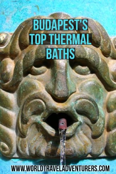 Budapest's tops thermal baths spas luxury travel