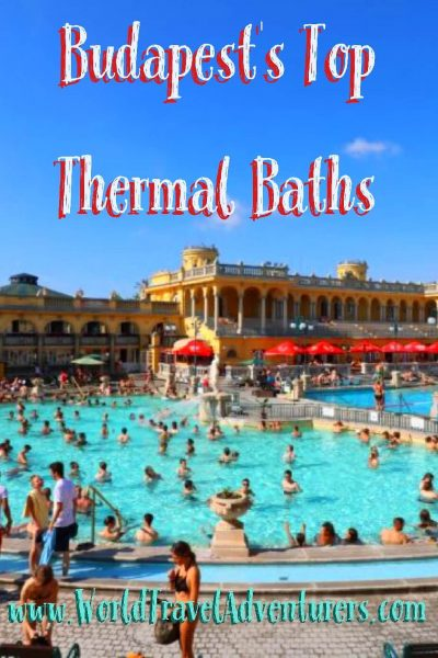 Budapest's top thermal baths spas luxury travel