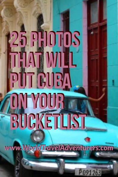 Cuba Havana travel luxury tourism world travel adventurers classic cars