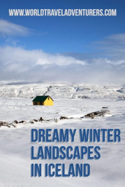 Dreamy winter landscapes in Iceland, best photos of winter in Iceland, why to visit Iceland in winter