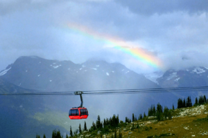 Whistler Activity Center Romantic Vacation Olympic Rings British Columbia Peak To Peak Gondolas Blackcomb
