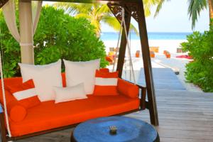 Park Hyatt Maldives Hadahaa Cocktail Reception Sunset Romantic Getaway Honeymoon Wedding Anniversary