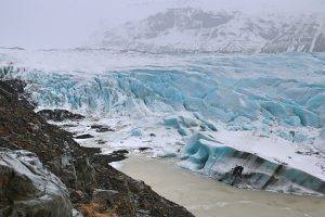 Iceland Glacier WInter Wonderland
