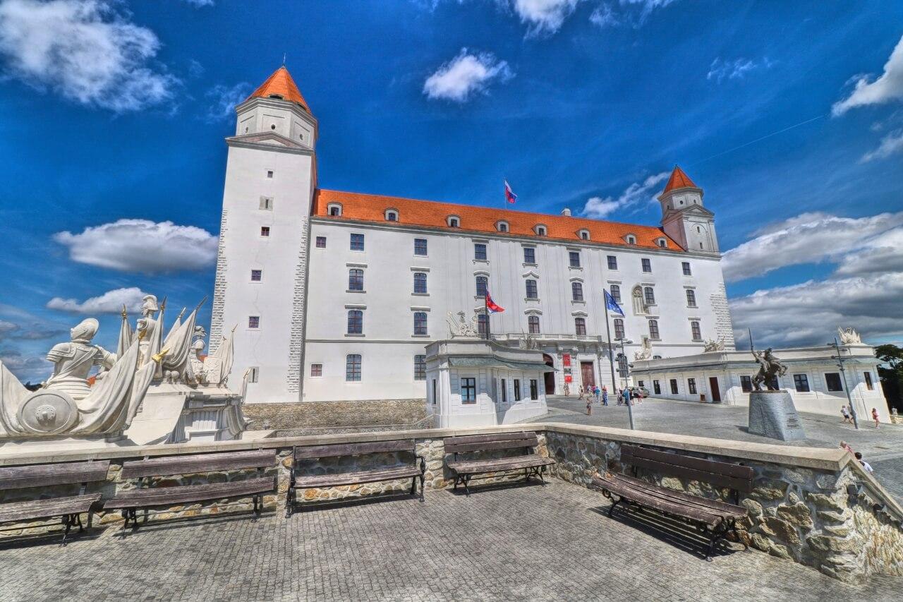 Bratislava Castle Slovakia World Travel Adventurers