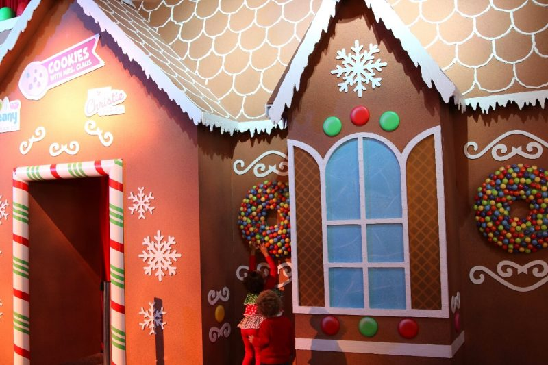 ICE! Christmas Around the World Gaylord National Christmas on the Potomac National harbor luxury resort DC holiday attraction family activity world travel adventurers WorldTravelAdventurers Gingerbread house