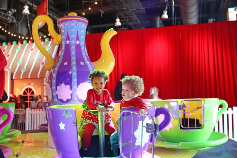 ICE! Christmas Around the World Gaylord National Christmas on the Potomac National harbor luxury resort DC holiday attraction family activity world travel adventurers WorldTravelAdventurers Tea cups