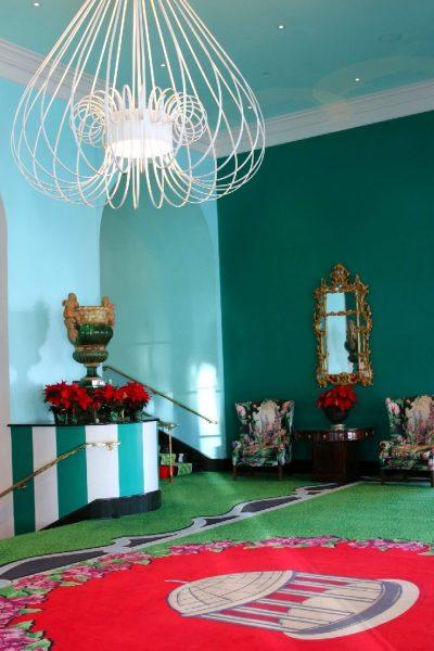 Greenbrier Christmas holidays family getaway luxury resort world travel adventurers