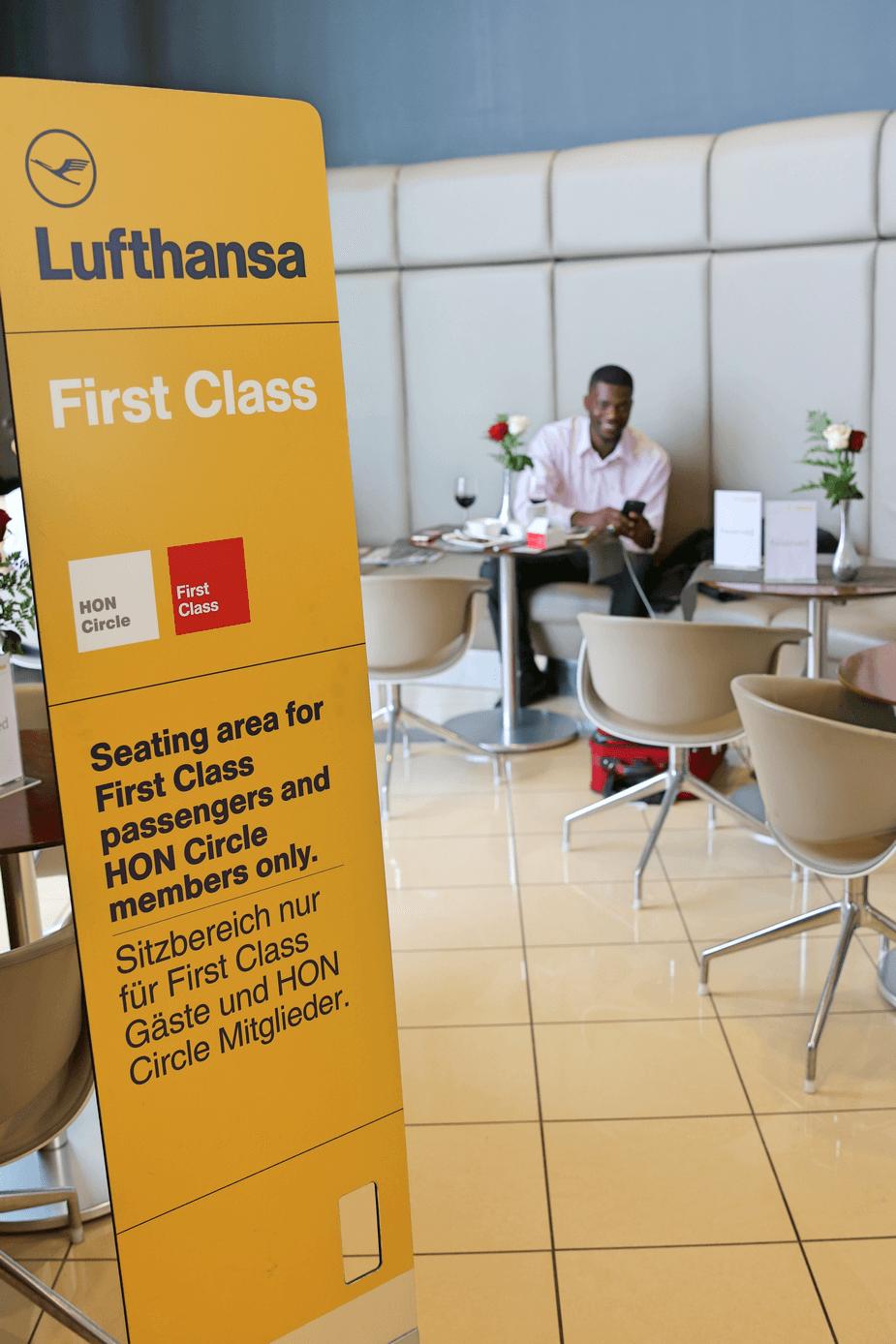 Lufthansa Senator Lounge IAD WorldTravelAdventurers