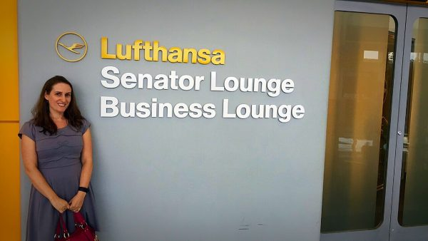 Lufthansa Senator Lounge Washington DC IAD First Class World Travel Adventurers WorldTravelAdventurers