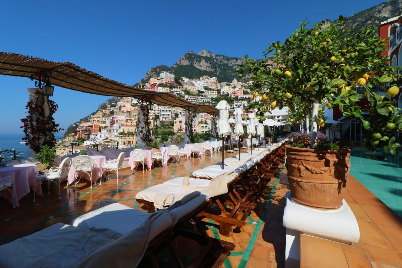 Luxury boutique hotel Positano