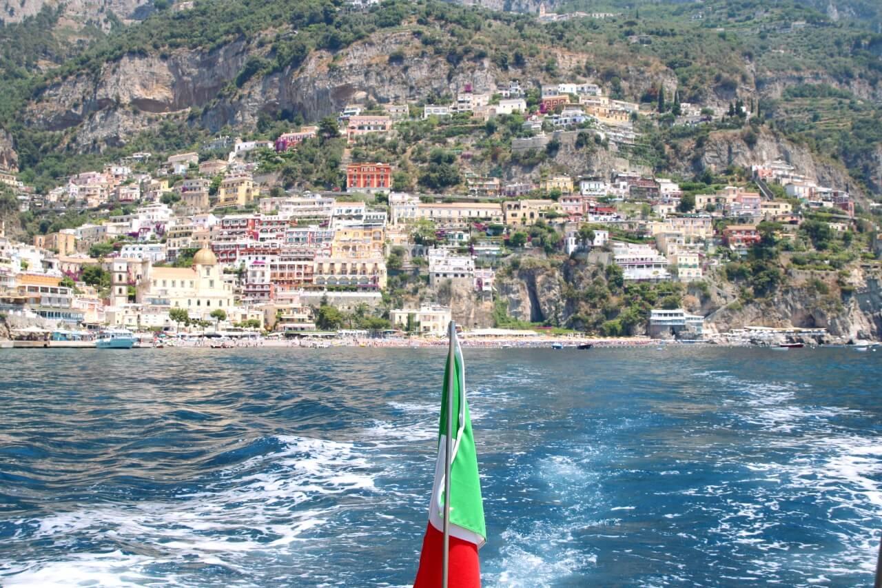 Le Sirenuse's boat Sant'Antonio