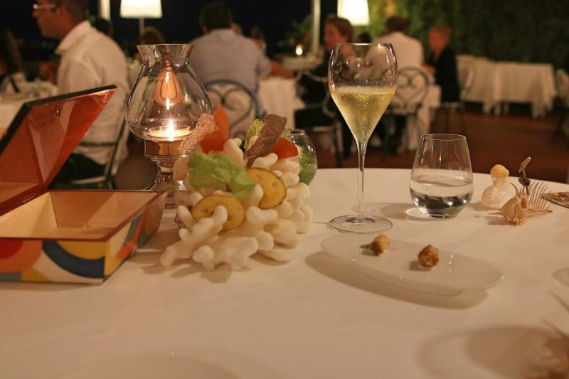 Terrazza Bosquet Review, Michelin Star Restaurant in Sorrento