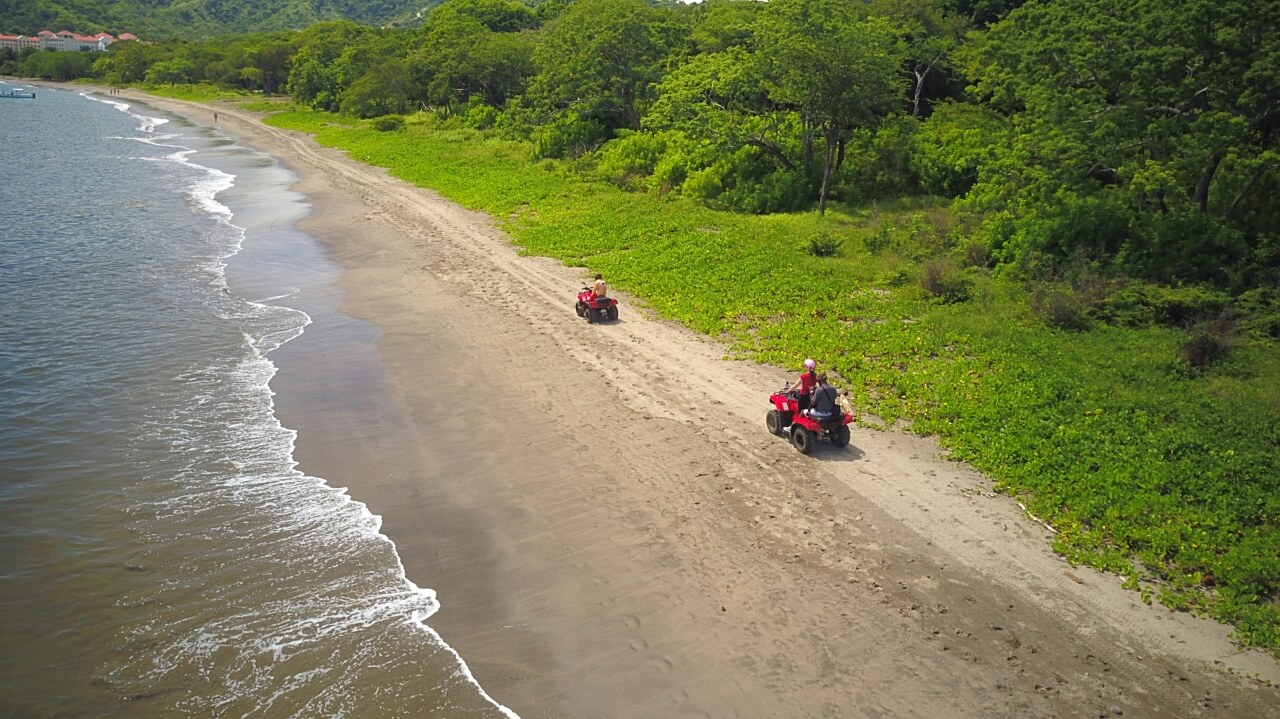 ATV on Costa Rica's beaches