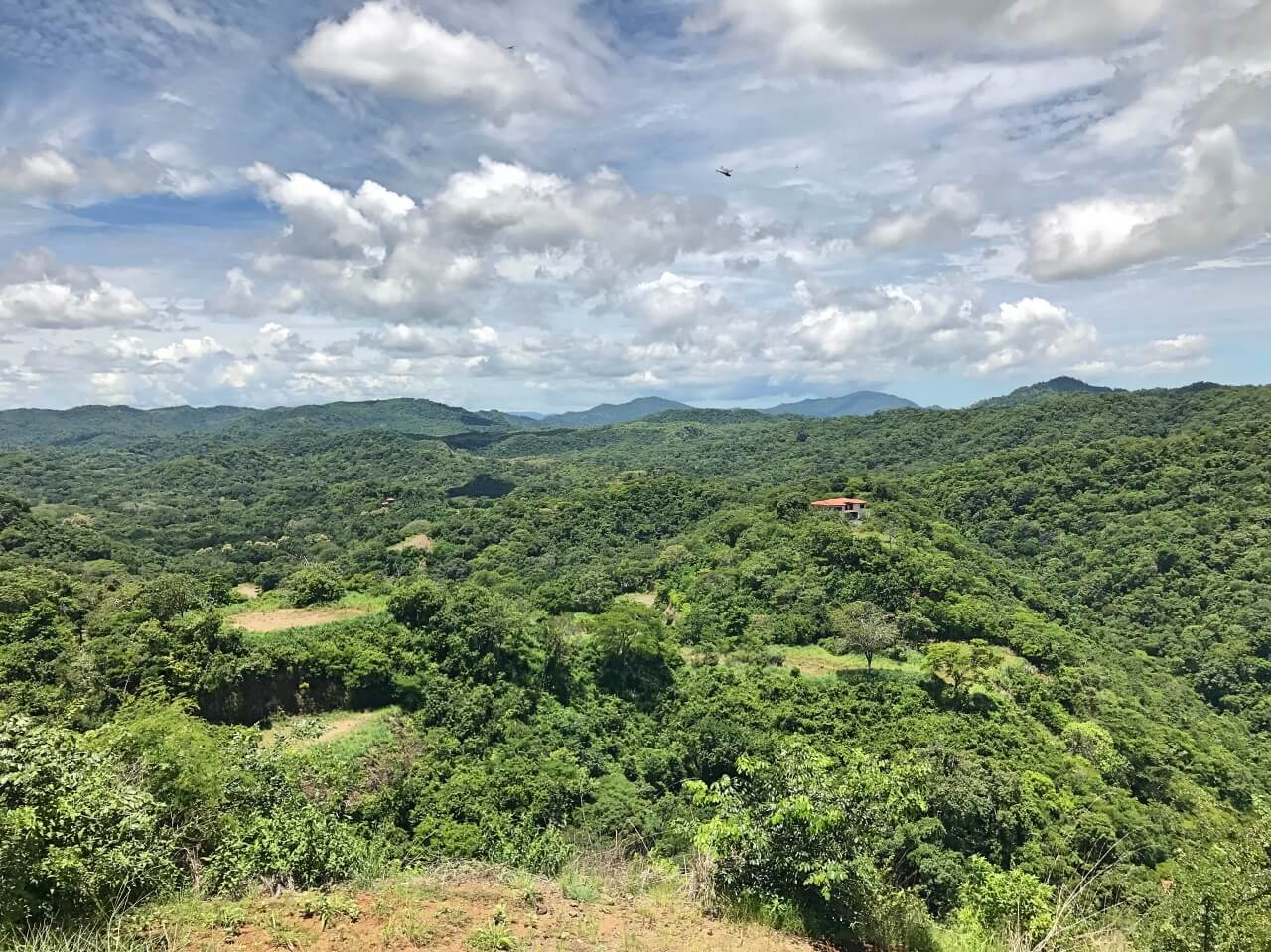 View from Costa Rica's best zipline