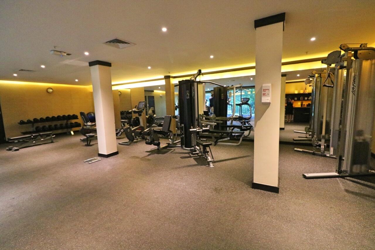 Andaz Peninsula Papagayo exercise room