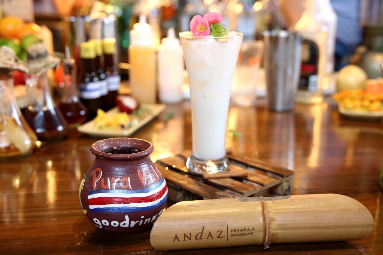 Andaz Peninsula Papagayo Mixology Class Cocktail