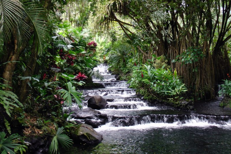 Best locations in Costa Rica- Tabacon Thermal Spa