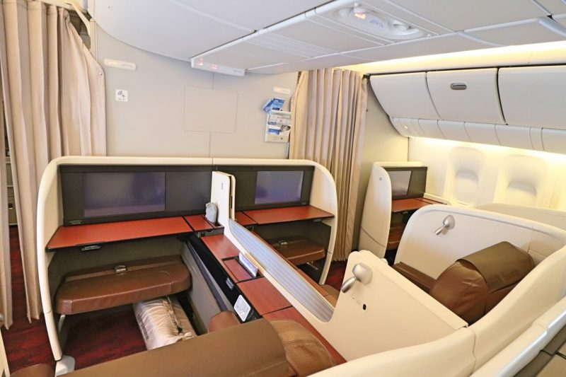 Japan Airlines Boeing 777-330ER First Class Cabin