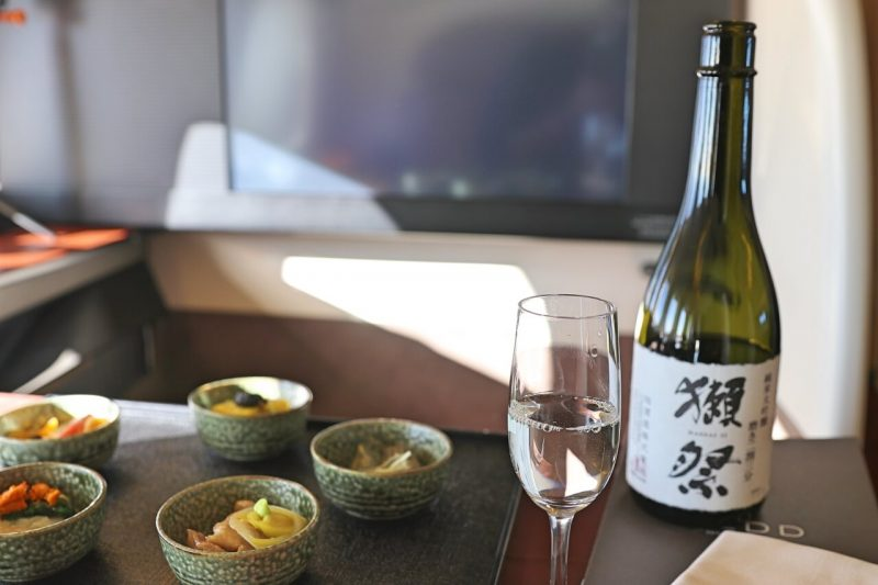 JAL First Class review and 1st class images