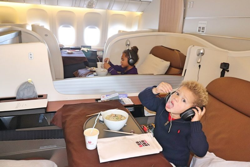 Long haul flight with toddler