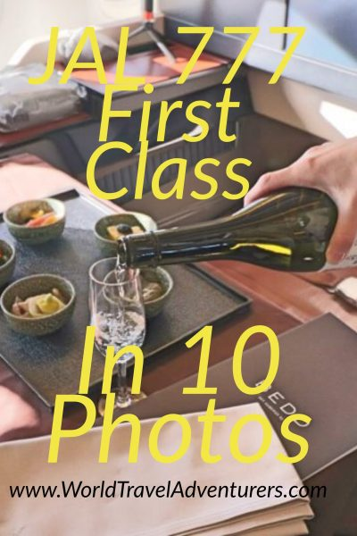 JAL 777 First Class in 10 Photos